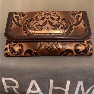 Brahmin tri-fold wallet